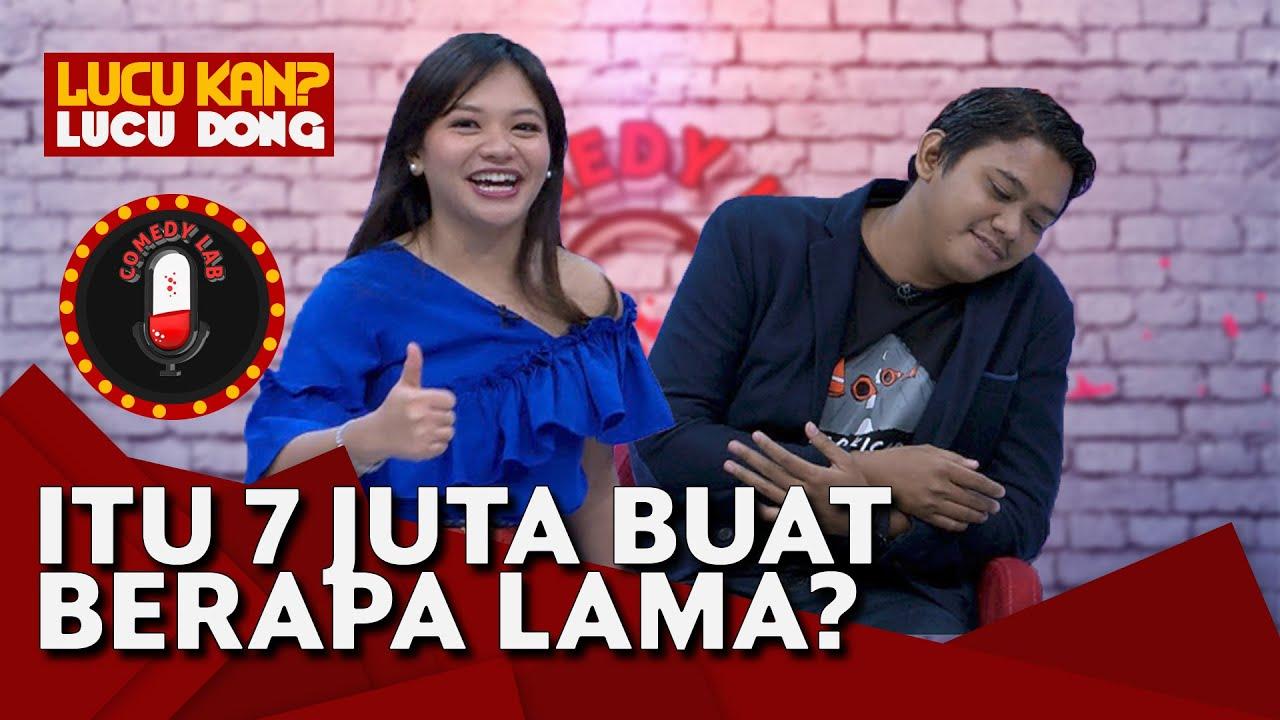 Amel Carla Balas Roasting Mal Jupri, Sama-sama Sepi - Comedy Lab (PART 6)