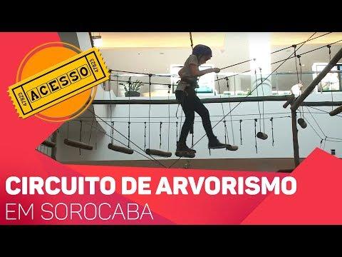 Circuito de arvorismo em Sorocaba - TV SOROCABA/SBT