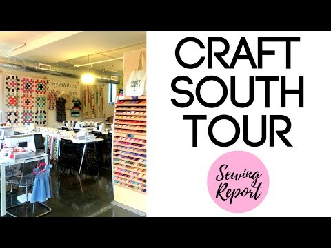 Craft South | Nashville Fabric Store, Quilt Shop, Craft Store Tour | Founder Anna Maria Horner