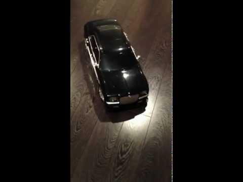Chrysler 300 RC Car driving and lighting demonstration