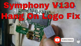 symphony v130 hang logo fix flash file 100 tested