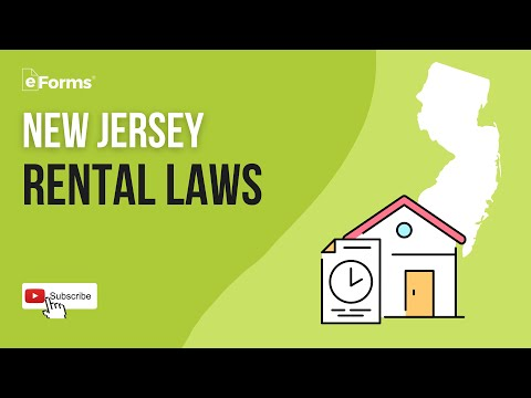 New Jersey Rental Laws - EXPLAINED