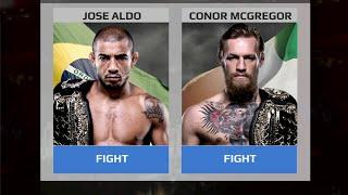 EA SPORTS UFC MOBILE GAME REVIEW: ALDO VS MCGREGOR UFC 194