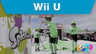 Wii U - Splatoon Mess Fest Celebrity Reactions