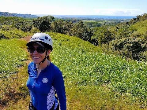 Marina V: ziplining in Kauai w/Skyline Eco-Adventures!