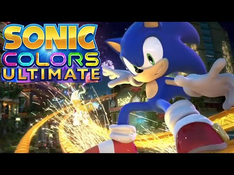Sonic Colors Ultimate Reveal Trailer Sonic Central 30th Anniversary 2021 HD