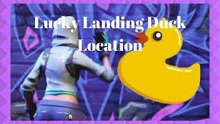 Fortnite: WEEK 3 * Lucky Landing Rubber Ducky Location *