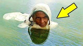 Эта женщина живет в воде 20 ЛЕТ! Ты не поверишь, у...