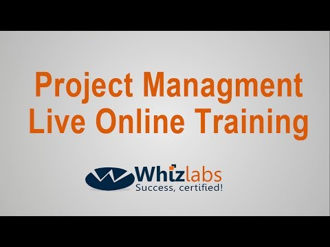 Project Management Live Online Training Demo session