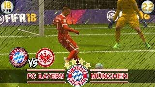 FC Bayern München vs Eintracht Frankfurt | Fifa 18 Trainerkarriere #22