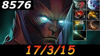 Dota 2 Terrorblade 8576 MMR 17/3/15 (Kills/Deaths/Assists) Ranked Full Gameplay