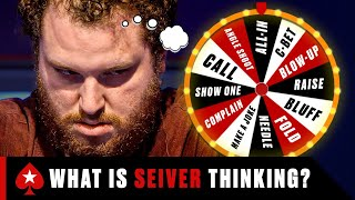 Scott Seiver is the most UNPREDICTABLE poker player ever ♠️ PokerStars