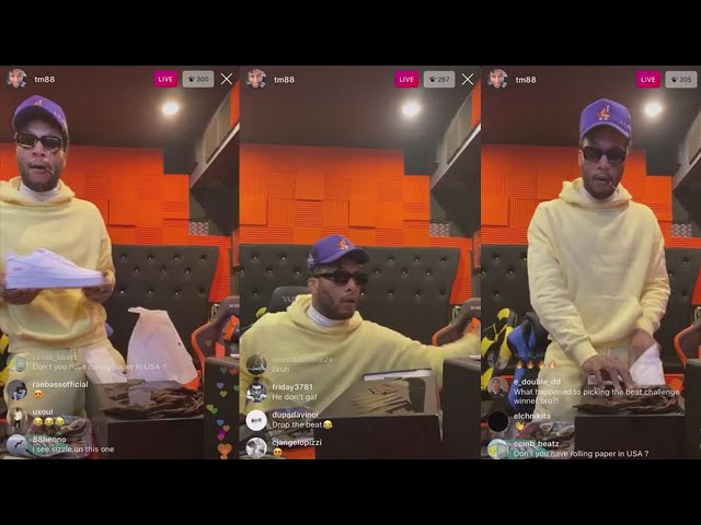 TM88 Goes Crazy With Beats During Quarantine! ☣️