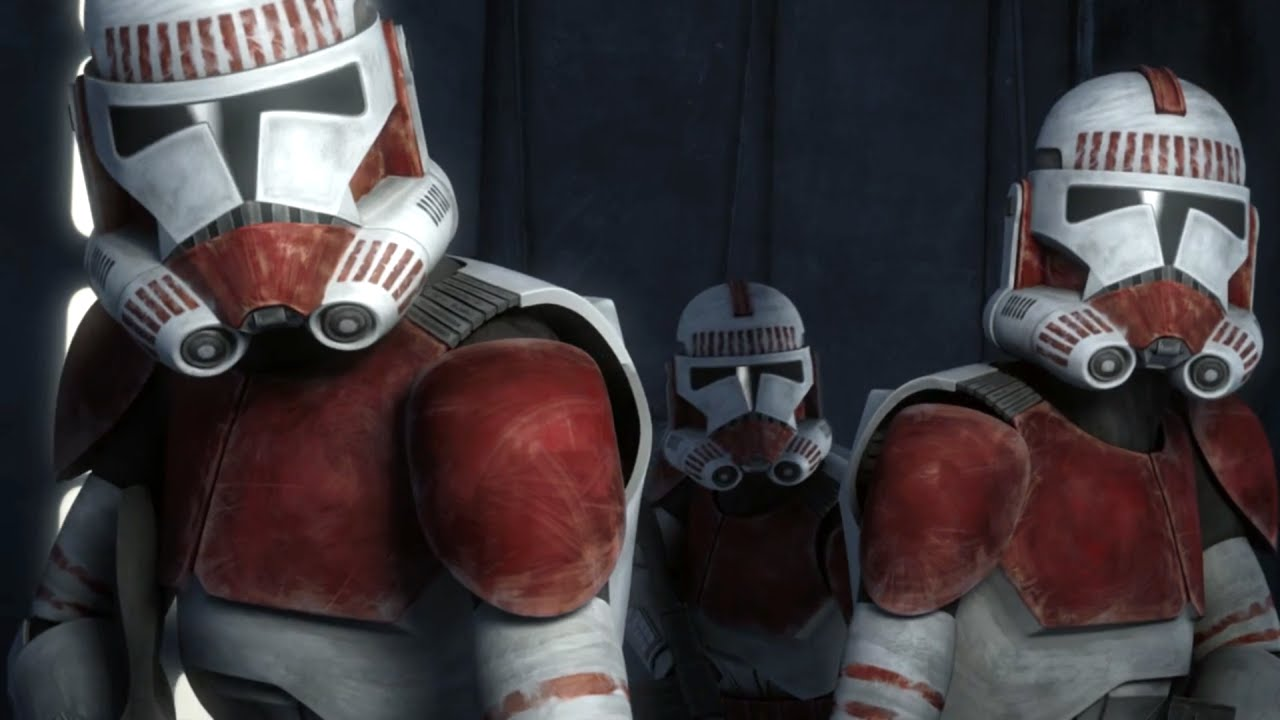 Star Wars The Clone Wars   Clone Troopers II (Gregor, Fives, Rex And Thorn)