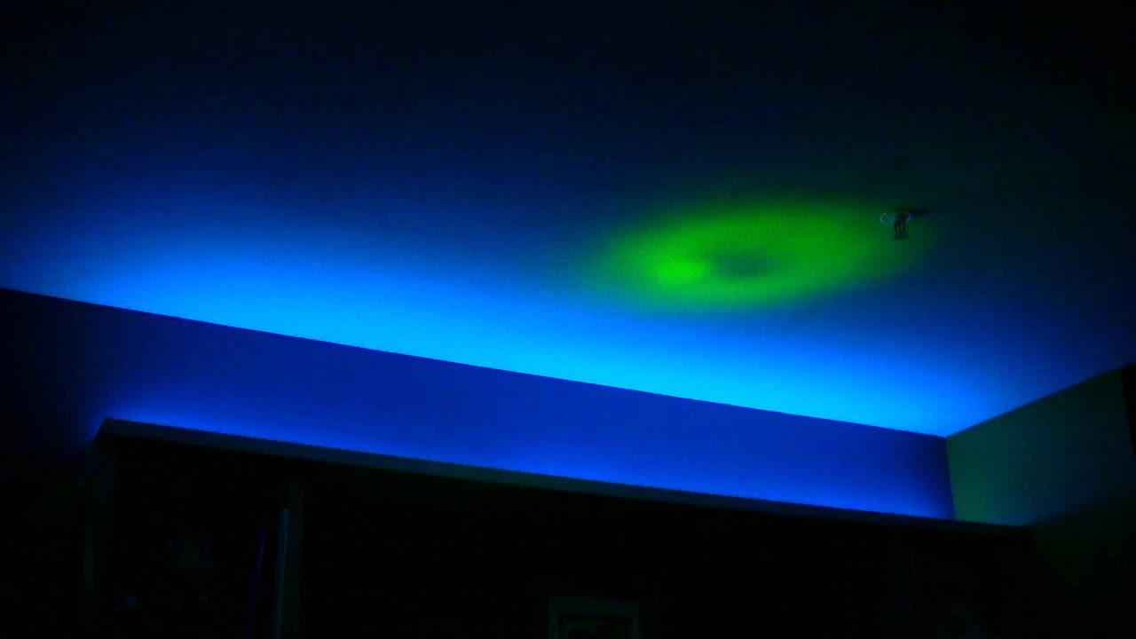 rgb led strip e27 rgb led light bulb in my bedroom youtube. Black Bedroom Furniture Sets. Home Design Ideas
