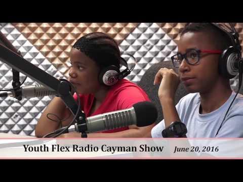 Youth Flex Radio Show - Cayman Islands -Photography Camp Kids