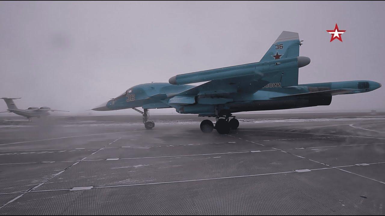 Russian Su-34 4++ Strike Fighter - SYRIA WAR [1080p]