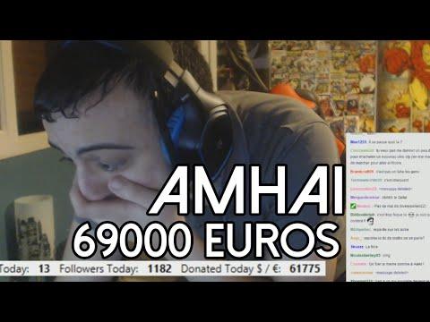 Liberty reçoit plus de 69k (69,000) euros de dons de la part d'Amhai pendant son live Twitch