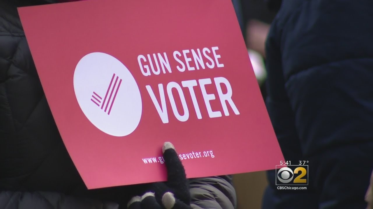 Thousands In Chicago Protest Gun Laws Following Florida Shooting