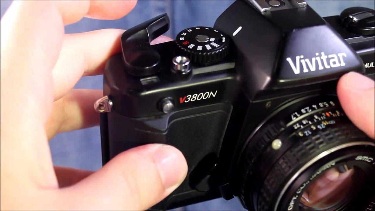 vivitar v3800n operating youtube rh youtube com Vivitar SLR 35Mm Camera Manual Vivitar Lenses What Cameras Take