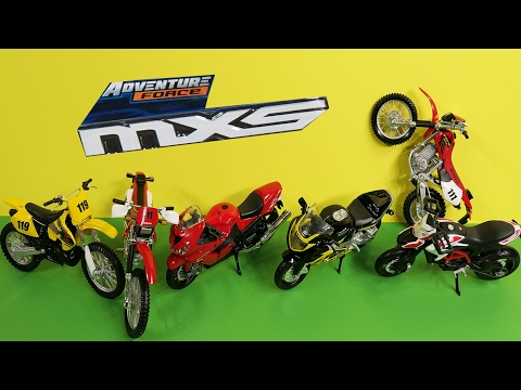 TOY Bike Opening Adventure Force MXS Motocross Toy Bike For Kids Videos For Children 2