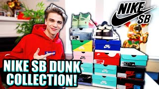 My Entire Nike SB Dunk Collection ($10,000+ of RARE Heat)