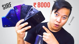 Top 6 Best Smartṗhones Under 8000 - Full Paisa Wasool 😍😍