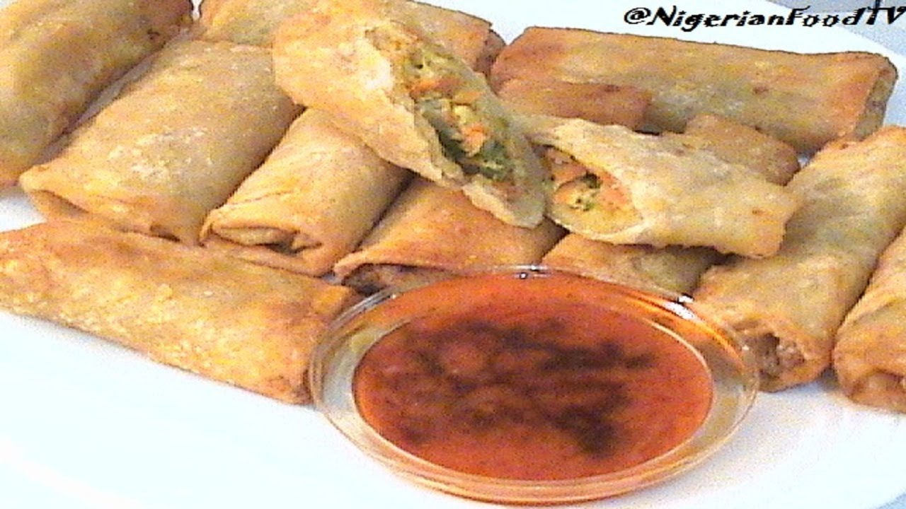 Nigerian spring rolls chicken vegetables spring rolls nigerian nigerian spring rolls chicken vegetables spring rolls nigerian small chops 1 youtube forumfinder Choice Image