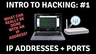 How Useful is an IP Address in Hacking? [IP Address + Port Overview] | IntroToHacking#1