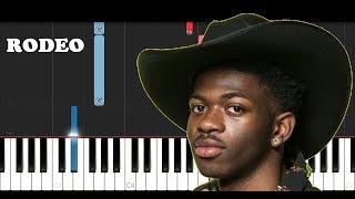 Lil Nas X - Rodeo ft Cardi B (Piano Tutorial)