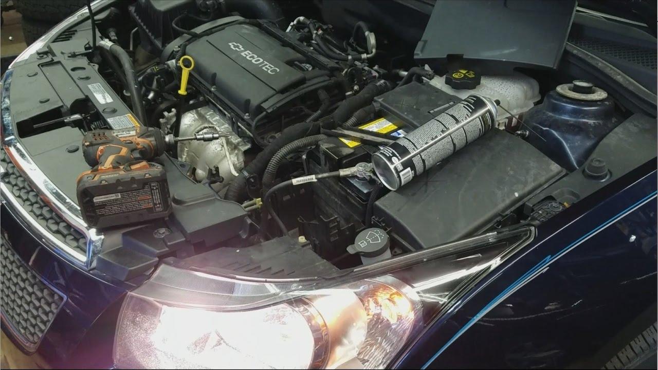 Fuse Box 2011 Chevy Cruze P0171 U0100 U0140 U0073 Stabilitrak