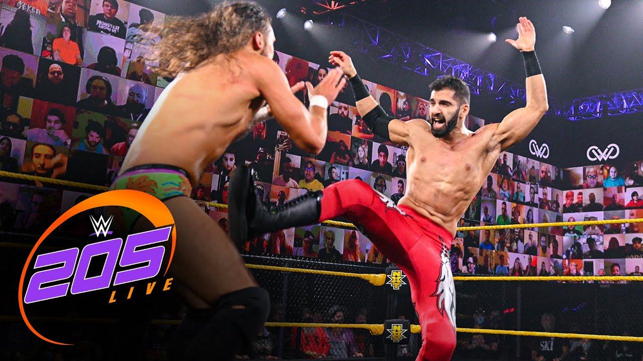 Ariya Daivari battles newcomers in Daivari's Dinero Division: WWE 205 Live, Oct. 16, 2020