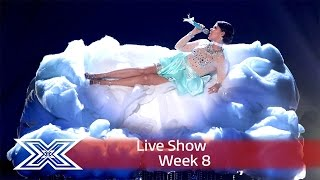Saara Aalto is on cloud 9 with a diva medley  | Live Shows Week 8 | The X Factor UK 2016