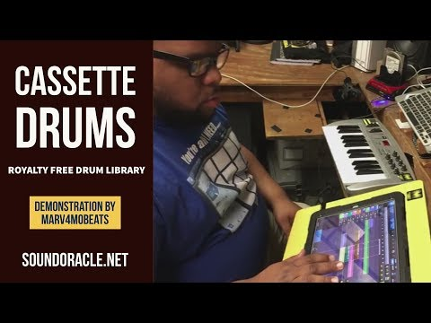 Cassette Drums - Drum Library for Producers