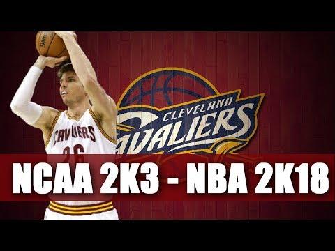 Kyle Korver Through The Years - NCAA College Basketball 2k3 - NBA 2k18