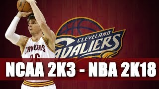 Kyle Korver Through The Years - NCAA College Basketball 2k3 - NBA 2k18