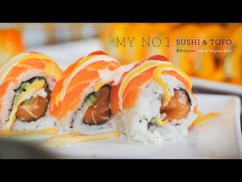 【Best Food Today】My No. 1 Sushi & Tofu_Milpitas_Korean food _Sushi
