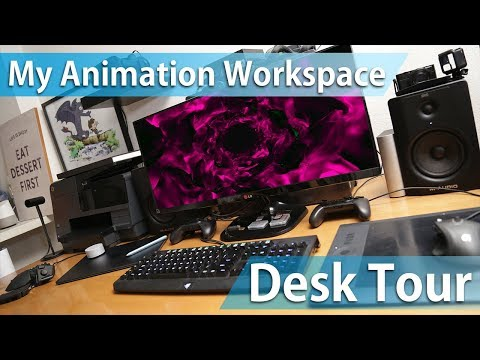 My Animation / VFX Workspace - DESK TOUR
