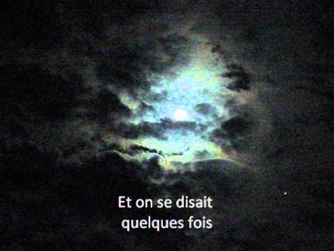 Scala: J'ai demandé à la lune (Lyrics)