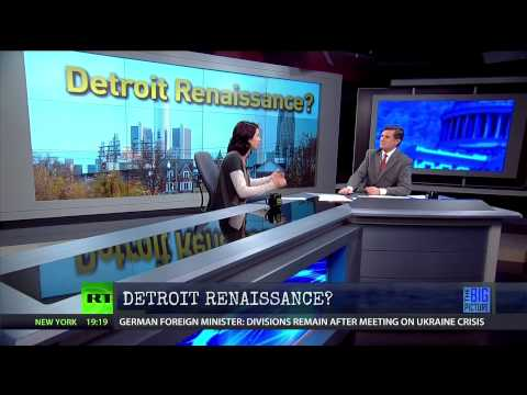 Abby Martin Reports on Blighted Detroit
