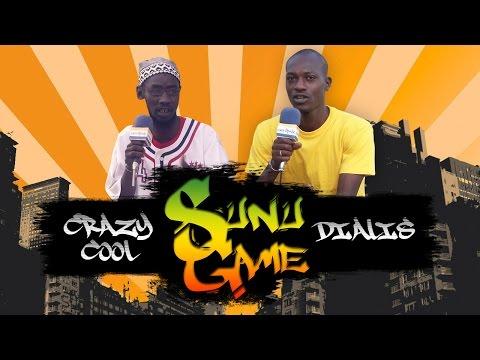 """Le rapeur Crazy Cool dans """" Sunu Game """""""