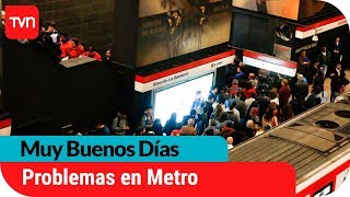 Problemas de energía generan retrasos en línea 1 y 5 de Metro | Muy buenos días