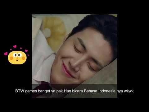 Kim Seonho (Han Jipyeong) menyapa Indonesia di CNN Indonesia