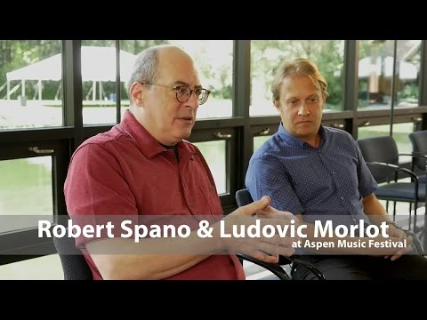 Classical Conductors Ludovic Morlot & Robert Spano at the Aspen Music Festival
