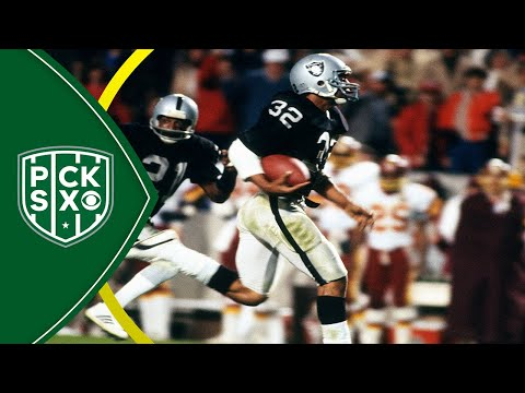 Marcus Allen details his famous run and Raiders victory in Super Bowl XVIII | Pick Six Podcast