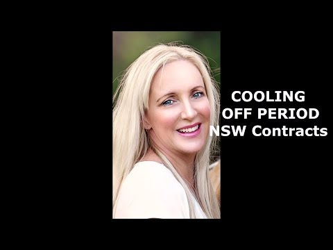 The Cooling Off Period For NSW Property Contracts