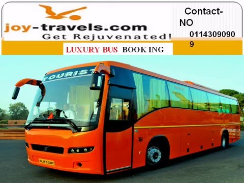 Online Luxury Bus Booking | Indian Travel Agent