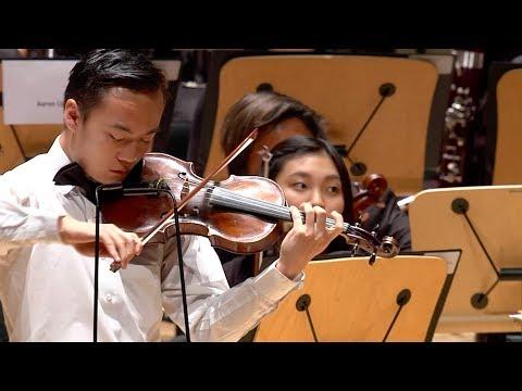 Phil Chen plays Tchaikovsky Violin Concerto I. Allegro Moderato