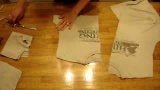 T-Shirt Recon: Reusable Produce Bags