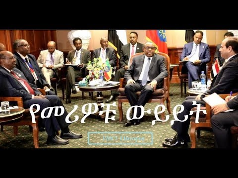 Dr. Tsegaye Gebeyehu, Minister of Foreign Affairs Gave an Explanation on Three-days Symposium Held B